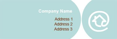 Animal Boarder Address Label Template